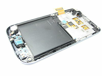 Black ~ Full LCD display+Touch screen+frame+key for samsung galaxy s i9000 i9001