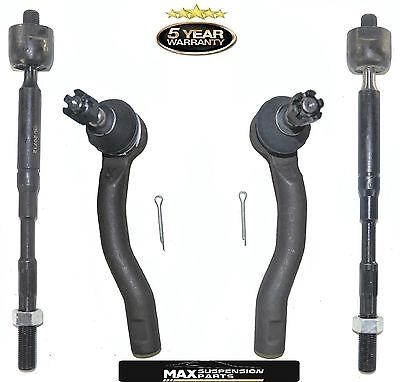 Front Left /& Right Outer Steering Tie Rod Ends for Toyota Corolla 2003-2008 2Pc