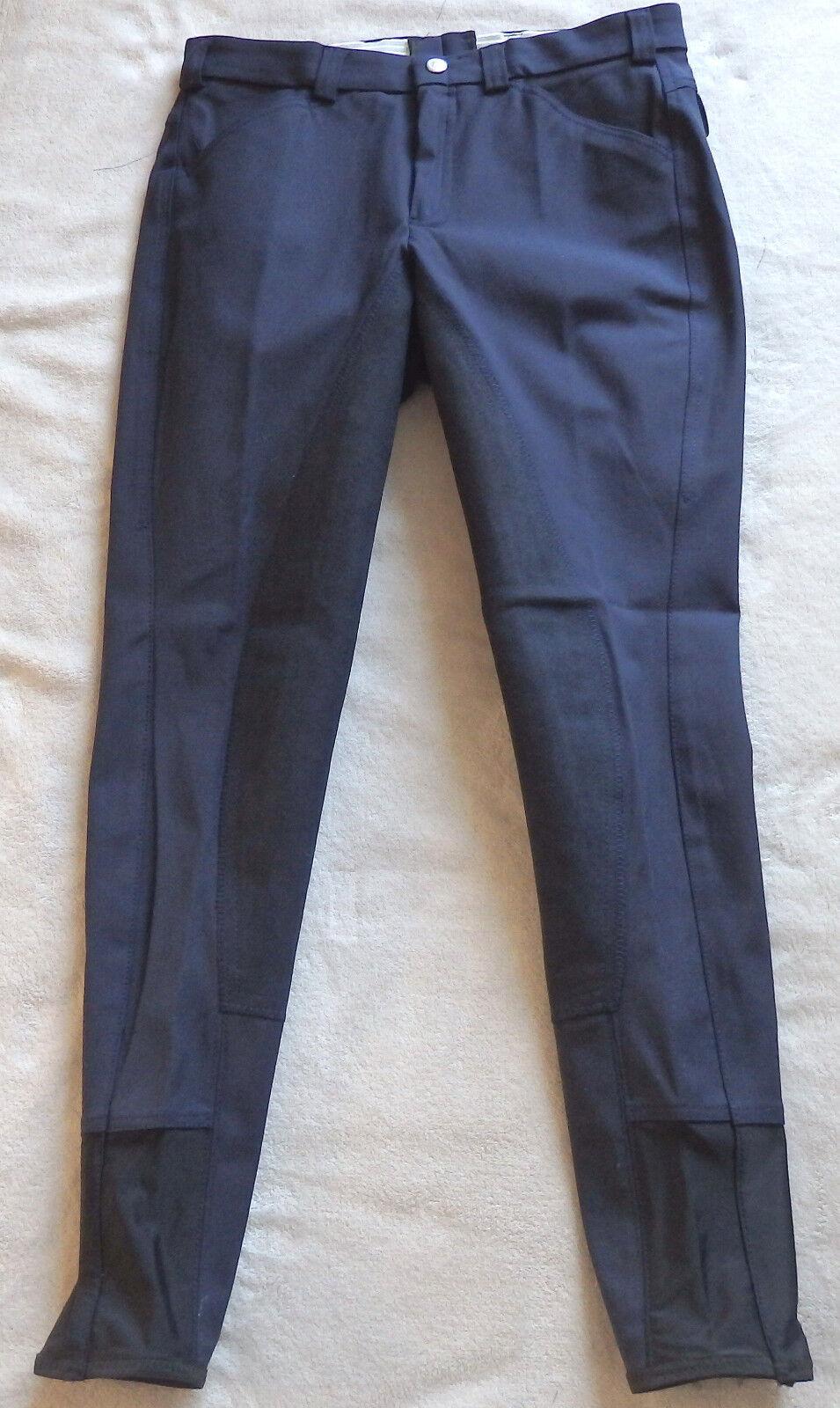 Mens jodhpurs, Full Trim, Dark bluee, Size 54, stretchbeinabschluß, baroux  (6)  low price