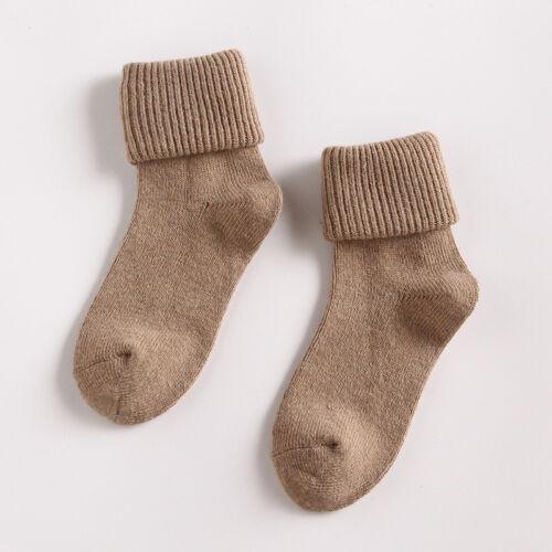 Fashion Womens Wool Cashmere Thick Sock Lady Soft Casual Winter Socks Xmas Gift