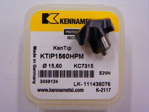 D169 KENNAMETAL15.60 INSERT DRILL//CHAMFER TOOL KTIP 1550HPM /& TPGX INSERTS