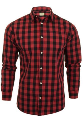 Jack /& Jones Mens L//S /'Gingham/' Shirt