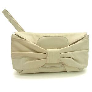 Valentino-Garavani-Clutch-bag-White-Woman-Authentic-Used-G541