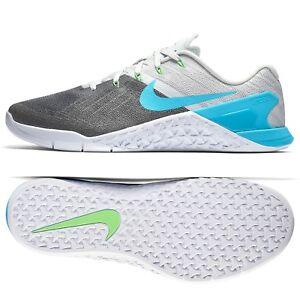 Nike Metcon 3 Pure Platinum Blue Fury White 852928-014 Men s ... 5cbf9ab26