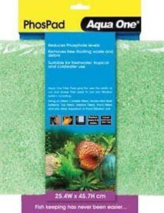 Aqua-One-Phos-Pad-Self-Cut-Filter-Pad-25-4x45-7cm-for-Aquarium-amp-Pond-Filters