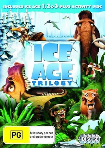 1 of 1 - Ice Age 1, 2 & 3 Blu-ray [Region B] [New]