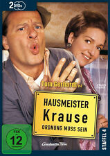 2 DVDs * HAUSMEISTER KRAUSE - STAFFEL 4 ~ Tom Gerhardt # NEU OVP
