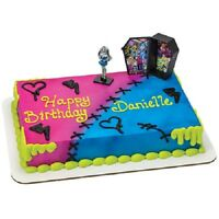 Monster High Frankie Stein Cake Topper Birthday Party Decorations Favors