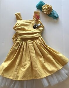 persnickety corset dress gold yellow tulle skirt butterfly