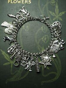 Tarot Charm Bracelet - Divination, Pagan, Wicca, Cards, Major Arcarna, Suits