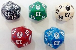 MTG-Dadi-Dice-Life-Counter-Segna-Punti-Vita-Set-completi-e-singoli-Magic-D20