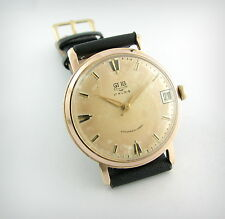 Vintage watch... Gub Glashutte... cal.69.1... oro plated... Check it!!!