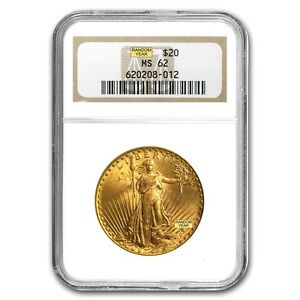 SPECIAL PRICE 20 Saint Gaudens Gold Double Eagle Coin MS 62 NGC SKU 151601