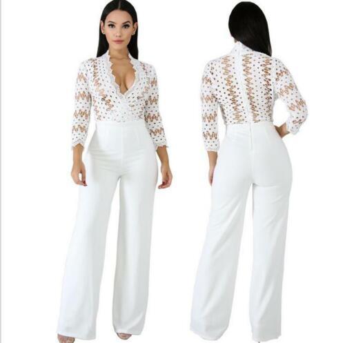 del originali calde copre Il pantaloni i merletto siamesi causali sexy maglietta vestito delle donne del dalla retro 7vwqPFxvY