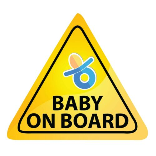 "Baby On Board Decal Car Truck Bumper 3M Sticker BUY 2 GET 3rd FREE 5/""x5/"" LO478"