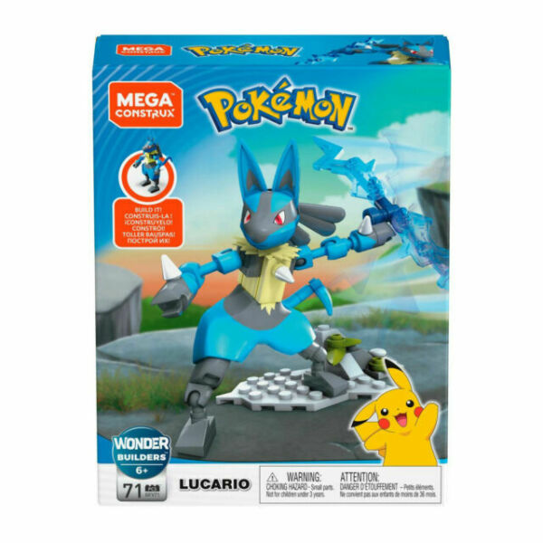 Mega Construx Pokemon Carvanha Pokeball Building Set