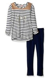 Juicy-Couture-Infant-Girls-Striped-Top-amp-Legging-Set-Size-12M-18M-24M