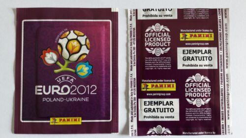 "NO RUSSIA 2018 PANINI  EURO 2012 /"" EJEMPLAR GRATUITO/"" PACKET  /""SPANISH VERSION/"""