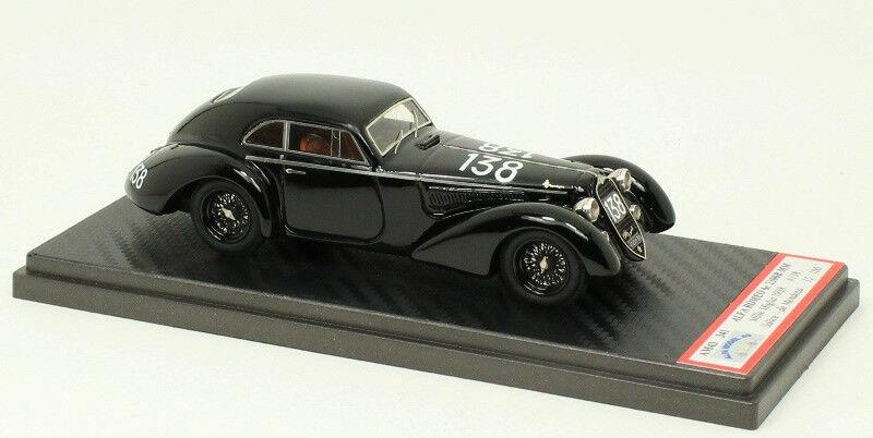 Alfa romeo 6c 2300 MM Berlinetta Touring-Mille Miglia 1938