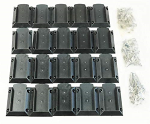 "KASTFORCE KF4011 Decking Railing Connectors 20 pcs 120 Screws for 2/""x4/"" (Real"