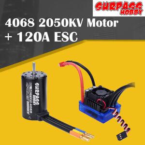 SURPASSHOBBY-4068-2050KV-Brushless-Motor-with-120A-ECS-for-1-8-RC-Climbing-Car