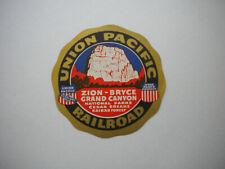 "#2945 Belfast and Moose head Lake railroad train Vintage Travel 3/"" DECAL STICKER"