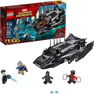 LEGO-Marvel-Super-Heroes-Black-Panther-Royal-Talon-Fighter-Attack-76100-New