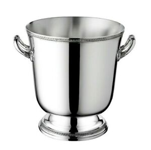 Malmaison-by-Christofle-Paris-France-Silver-Plate-Champagne-Cooler-Bucket-New
