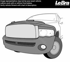 LeBra 55829-01 2005 Dodge Ram Black Front End Full Nose Car Bra Mask Cover