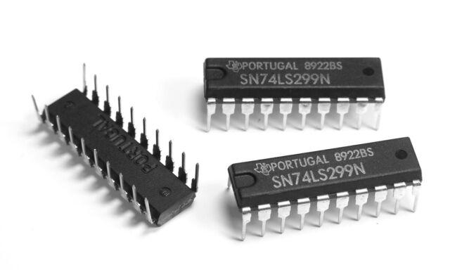 Motorola 5x SN74LS299N 8-Bit Universal Shift//Storage Register