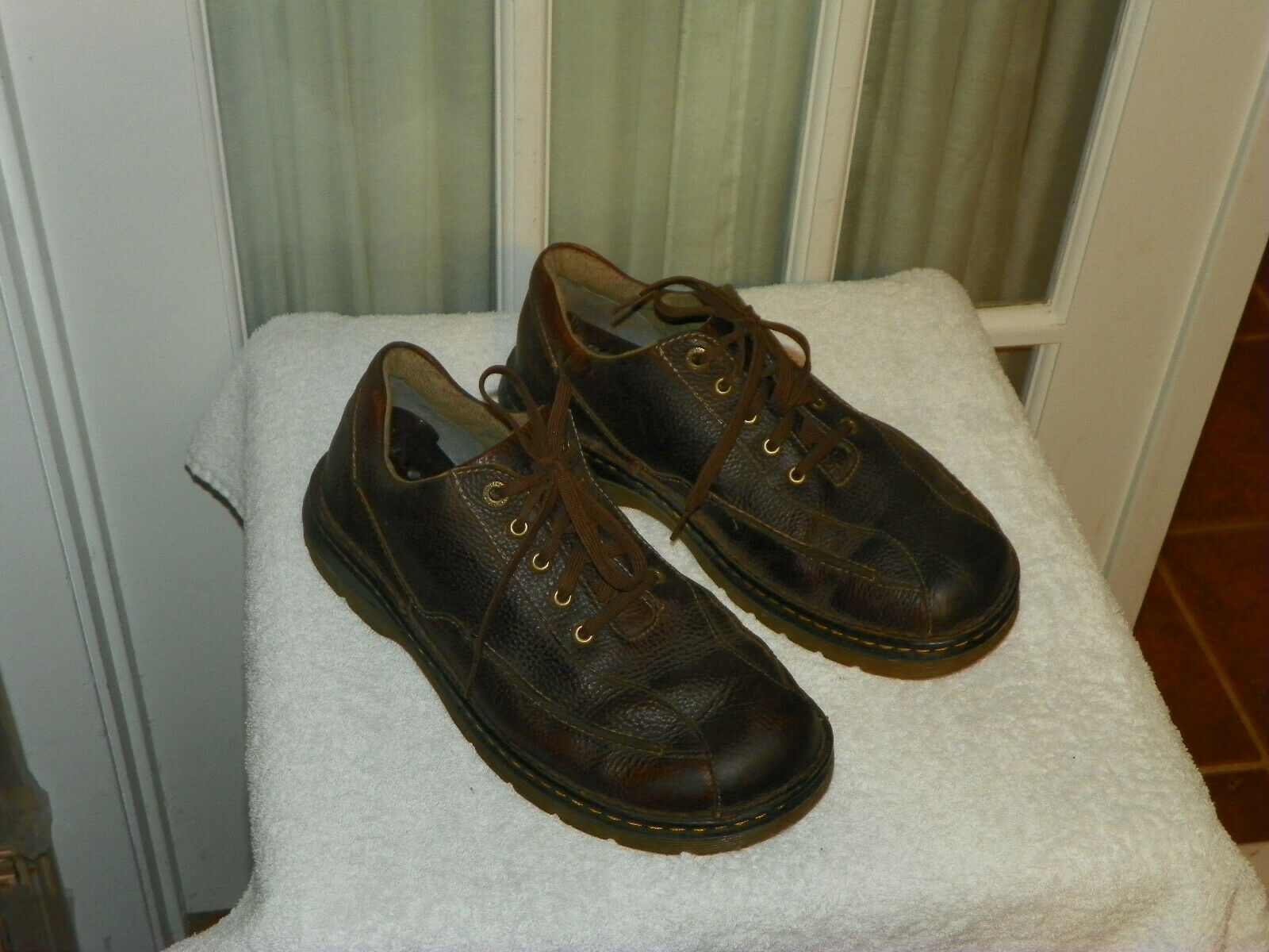Dr Doc Martens Brown Leather Lace Oxford shoes Mens size US 11 Style 11200