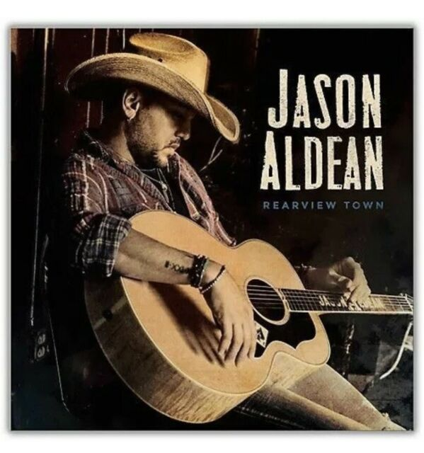 Jason Aldean - Rearview Town (CD, 2018) Brand New
