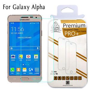 Verre-Trempe-Film-Ecran-Protecteur-100-Authentique-Gorilla-Samsung-Galaxy-Alpha
