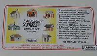 American Model Builders, Inc Ho 800 Xpress Sampler Set (buidlings) 7 Kits
