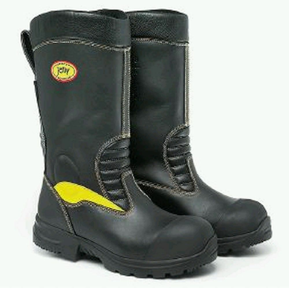 JOLLY CROSSTECH GORE-TEX LEATHER FIREMANS BIKERS RIGGER BOOTS  WATERPROOF SIZE 9  no tax