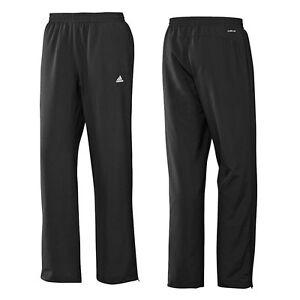79be00dd2014ed Das Bild wird geladen Adidas-Ess-Stanford-Black-Children-Training-Pants -Jogging-