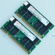 Hynix 2GB 2 x 1GB PC2700 333mhz SODIMM DDR 333 Mhz 200pin DDR1 Laptop Memory RAM