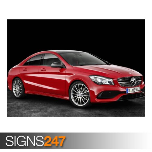 AA104 Photo Picture Poster Print Art A0 to A4 CAR POSTER MERCEDES-BENZ CLA