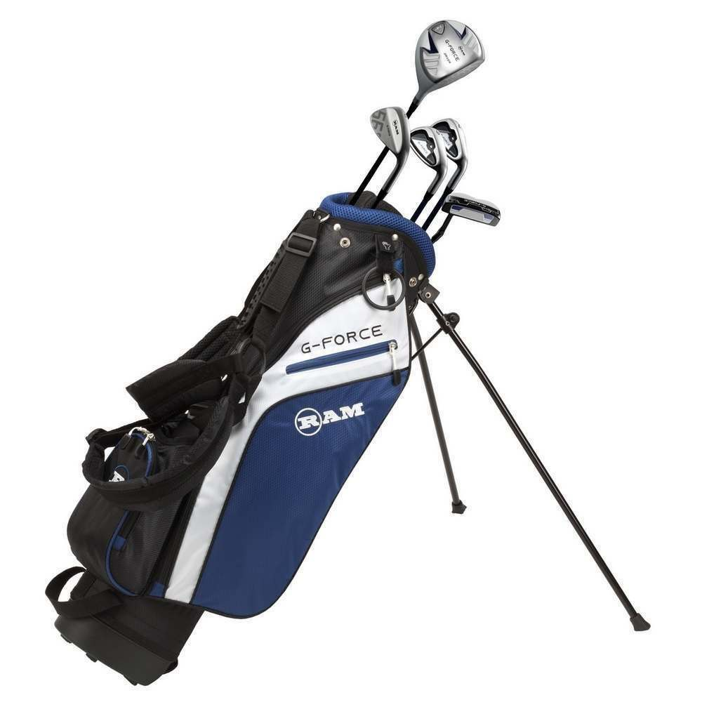 Boy S Age 9 12 Cougar Tour X Cat Junior Golf Clubs Four Leftt Handed Set Bag For Sale Online Ebay