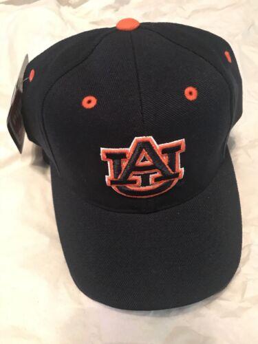 Raised Logo Auburn Tigers Snapback Hat