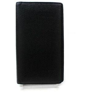 Authentic-Louis-Vuitton-Diary-Cover-Black-Taiga-902558