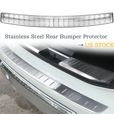 Outer Rear Bumper Protector Sill Plate Guard Cover For Nissan Rogue 2014-2017 #b