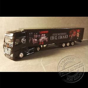 Camion-Miniature-Eddy-Mitchell-034-Big-Band-034-1-87-HO