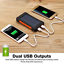 thumbnail 8 - 1000000mAh Solar Power Bank Dual USB Battery Waterproof Charger for Cell Phone