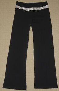 e997acec66 Womens Lululemon Athletica Yoga Pants Sz: 4 Black Flare Leg Athletic ...