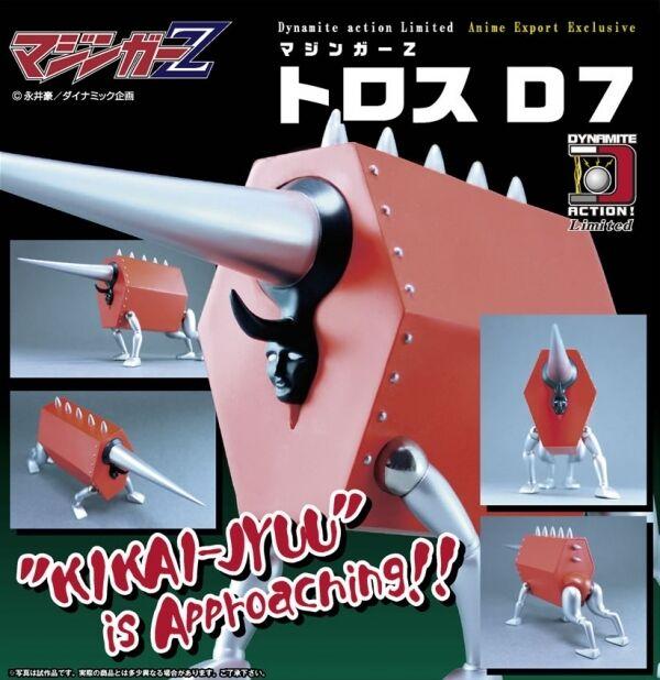 EVOLUTION giocattolo DYNAMITE azione ToroS  D7 from MAZINGER Z NUOVO  tutto in alta qualità e prezzo basso
