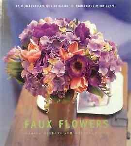 Faux-Flowers-by-Roy-Gumpel-Richard-Kollath-Ed-McCann-illustrated-like-new-cond