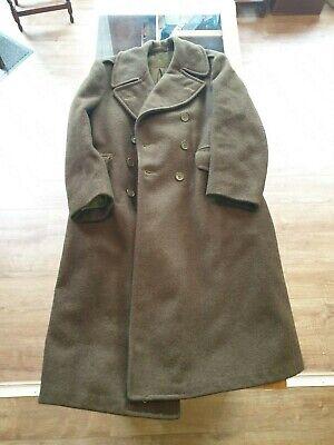 2019 Nuovo Stile Cook Abbigliamento Militare Canadese Toronto 1946 Grandi Lana Trench-mostra Il Titolo Originale Prestazioni Affidabili