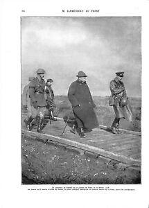 WWI-Bataille-d-039-Artois-Plateau-de-Vimy-Georges-Clemenceau-1918-ILLUSTRATION