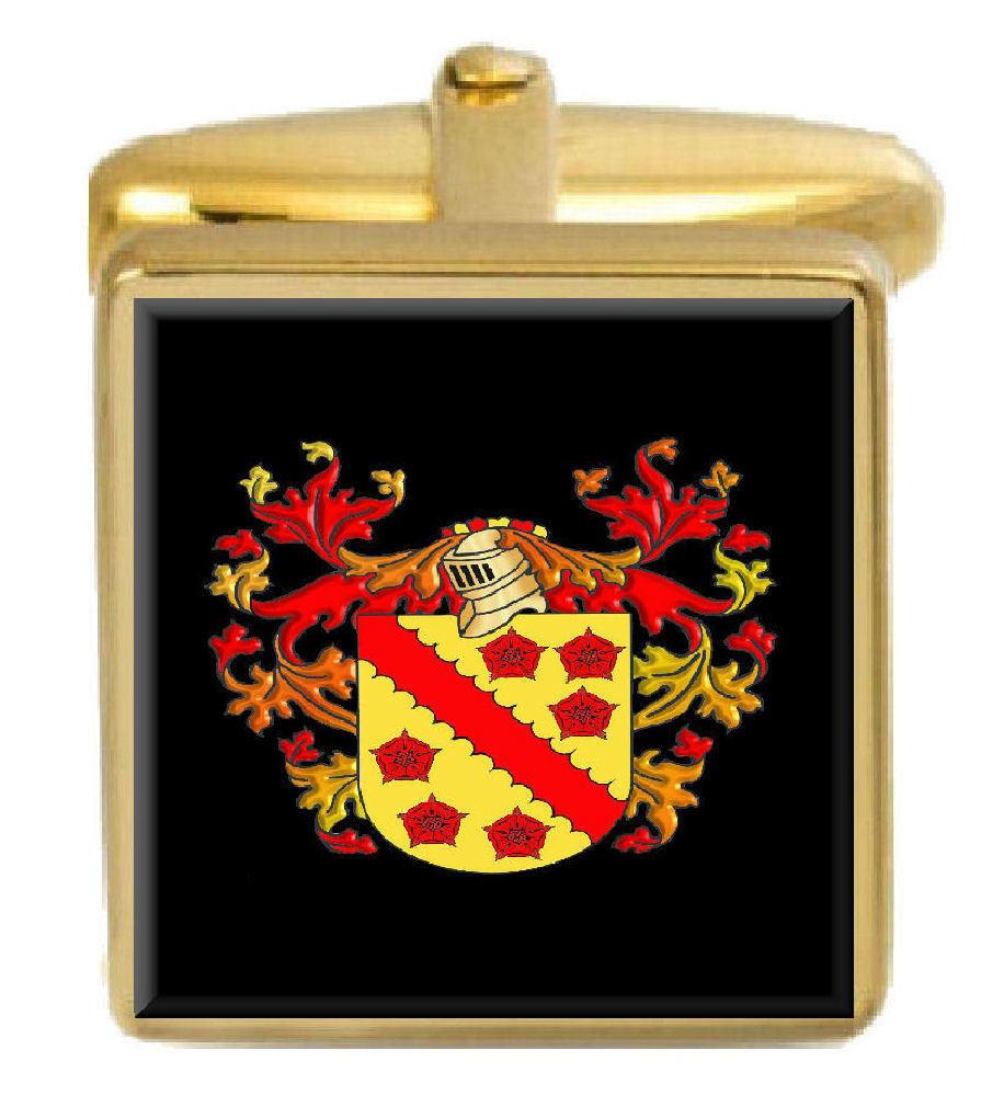 Warner Inghilterra Stemma di Famiglia Famiglia Famiglia Stemma Araldica Gemelli Box Set incisa 5b2cc9